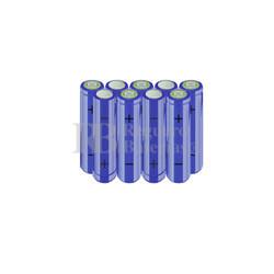 Packs de baterías AA 10.8 Voltios 2.000 mAh NI-MH RB90033480