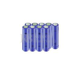 Packs de baterías AA 10.8 Voltios 2.000 mAh NI-MH RB90033527