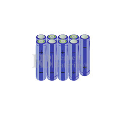 Packs de baterías AA 10.8 Voltios 2.000 mAh NI-MH RB90033528
