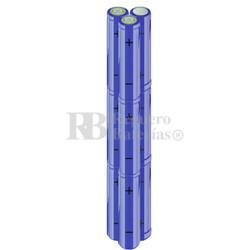 Packs de baterías AA 10.8 Voltios 2.000 mAh NI-MH RB90033568
