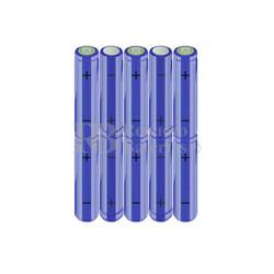 Packs de baterías AA 12 Voltios 2.000 mAh NI-MH RB90033355
