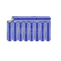 Packs de baterías AA 12 Voltios 2.000 mAh NI-MH RB90033501