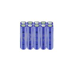 Packs de baterías AA 12 Voltios 2.000 mAh NI-MH RB90033513