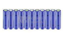 Packs de baterías AA 13.2 Voltios 2.000 mAh NI-MH RB90033423