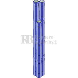 Packs de baterías AA 13.2 Voltios 2.000 mAh NI-MH RB90033570