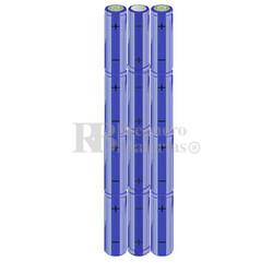Packs de baterías AA 14.4 Voltios 2.000 mAh NI-MH RB90033435