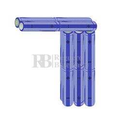 Packs de baterías AA 19.2 Voltios 2.000 mAh NI-MH RB90033533