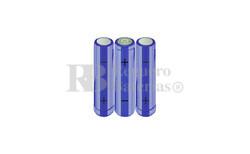 RB90033333 Packs de baterías AA 3.6 Voltios 2.000 mAh  NI-MH