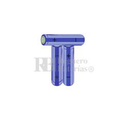 Packs de baterías AA 3.6 Voltios 2.000 mAh NI-MH RB90033502