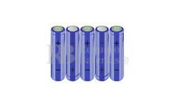 Packs de baterías AA 6 Voltios 2.000 mAh NI-MH RB90033338