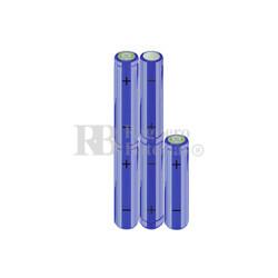 Packs de baterías AA 6 Voltios 2.000 mAh NI-MH RB90033509