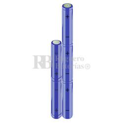 Packs de baterías AA 6 Voltios 2.000 mAh NI-MH RB90033512