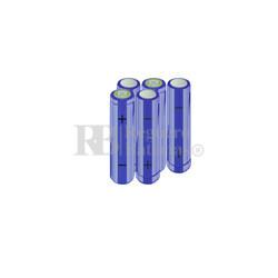 Packs de baterías AA 6 Voltios 2.000 mAh NI-MH RB90033522