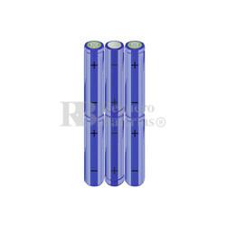 Packs de baterías AA 7.2 Voltios 2.000 mAh NI-MH RB90033364