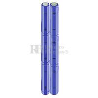 Packs de baterías AA 7.2 Voltios 2.000 mAh NI-MH RB90033514
