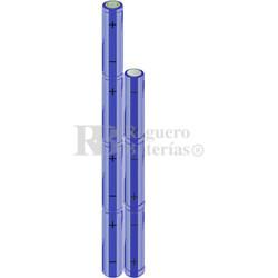 Packs de baterías AA 8.4 Voltios 2.000 mAh NI-MH RB90033565