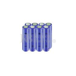 Packs de baterías AA 9.6 Voltios 2.000 mAh NI-MH RB90033351