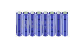 Packs de baterías AA 9.6 Voltios 2.000 mAh NI-MH RB90033415