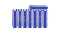 Packs de baterías AA 9.6 Voltios 2.000 mAh NI-MH RB90033503