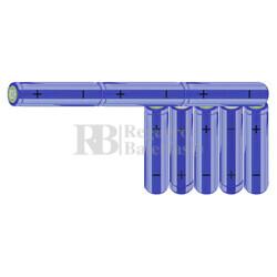 Packs de baterías AA 9.6 Voltios 2.000 mAh NI-MH RB90033504