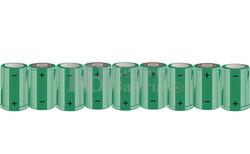 Packs de baterías SUB-C 10.8 Voltios 1.900 mAh NI-CD RB90033420