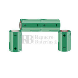 Packs de baterías recargables SUB-C 4.8 Voltios 1.900 mAh NI-CD RB90033597