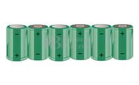Packs de baterías SUB-C 7.2 Voltios 1.900 mAh NI-CD RB90033392