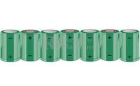 Packs de baterías SUB-C 8.4 Voltios 1.900 mAh NI-CD RB90033393