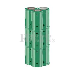 Packs de baterías SUB-C 10.8 Voltios 1.900 mAh NI-CD RB90033605
