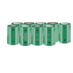 Packs de baterías SUB-C 10.8 Voltios 1.900 mAh NI-CD RB90033624