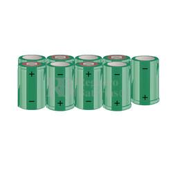 Packs de baterías SUB-C 10.8 Voltios 1.900 mAh NI-CD RB90033625