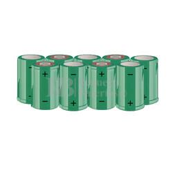 Packs de baterías SUB-C 10.8 Voltios 1.900 mAh NI-CD RB90033626