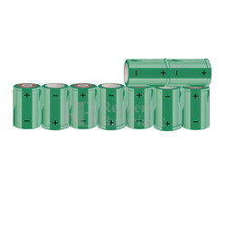 Packs de baterías SUB-C 10.8 Voltios 1.900 mAh NI-CD RB90033643