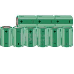 Packs de baterías SUB-C 10.8 Voltios 1.900 mAh NI-CD RB90033646