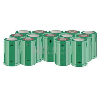 Packs de baterías SUB-C 16.8 Voltios 1.900 mAh NI-CD RB90033632