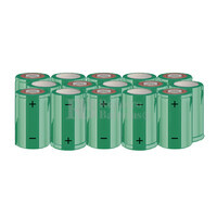 Packs de baterías SUB-C 18 Voltios 1.900 mAh NI-CD RB90033654