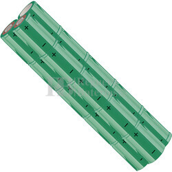 Packs de baterías SUB-C 18 Voltios 1.900 mAh NI-CD RB90033687