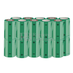 Packs de baterías SUB-C 24 Voltios 1.900 mAh NI-CD RB90033594