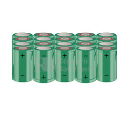 Packs de baterías SUB-C 24 Voltios 1.900 mAh NI-CD RB90033655