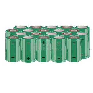 Packs de baterías SUB-C 24 Voltios 1.900 mAh NI-CD RB90033656