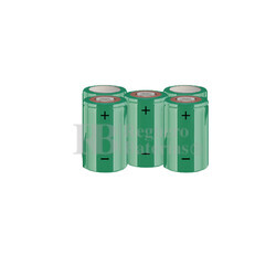 Packs de baterías SUB-C 6 Voltios 1.900 mAh NI-CD RB90033585