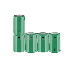 Packs de baterías SUB-C 6 Voltios 1.900 mAh NI-CD RB90033583