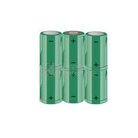 Packs de baterías SUB-C 7.2 Voltios 1.900 mAh NI-CD RB90033692