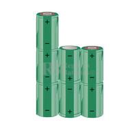 Packs de baterías SUB-C 8.4 Voltios 1.900 mAh NI-CD RB90033600