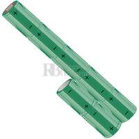 Packs de baterías SUB-C 8.4 Voltios 1.900 mAh NI-CD RB90033601
