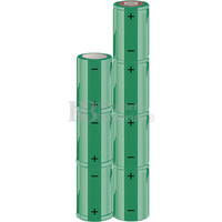 Packs de baterías SUB-C 8.4 Voltios 1.900 mAh NI-CD RB90033602