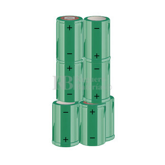 Packs de baterías SUB-C 9.6 Voltios 1.900 mAh NI-CD RB90033603