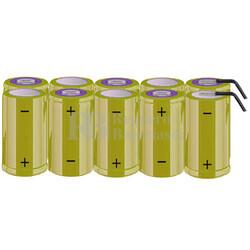 Packs de baterías tamaño C 12 Voltios 4.500 mAh NI-CD RB90033775