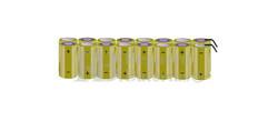 Packs de baterías tamaño C 19.2 Voltios 4.500 mAh NI-CD RB90033786