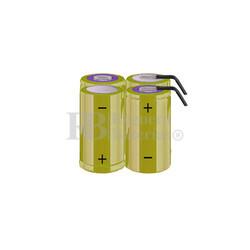 Packs de baterías tamaño C 4.8 Voltios 4.500 mAh NI-CD RB90033779